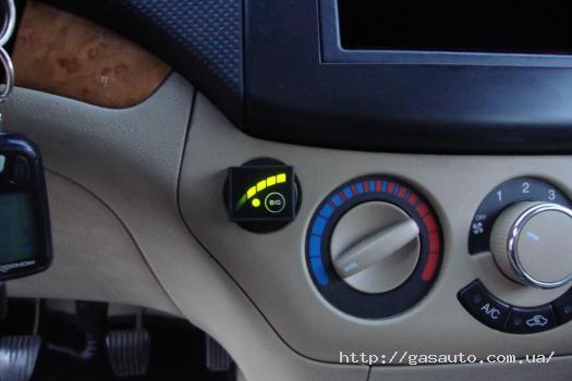 Кнопка переключения газ-бензин